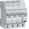 Дифференциальный автоматический выключатель 10 А / 30mA / B хар / A тип /  6kA / вход: 3 фазы + N, выход: 3х(1+N), 4 мод. , Hager