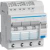 Дифференциальный автоматический выключатель 10 А / 30mA / C хар / A тип /  6kA / вход: 3 фазы + N, выход: 3х(1+N), 4 мод. , Hager