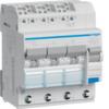 Дифференциальный автоматический выключатель 13 А / 30mA / C хар / A тип /  6kA / вход: 3 фазы + N, выход: 3х(1+N), 4 мод. , Hager
