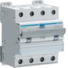 Дифференциальный автоматический выключатель 6 А / 300mA / C хар /  A тип / 6kA / 4 полюса / Hager