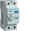 Устройство защитного отключения 25 А / 30mA / AC тип / 2 полюса / Hager
