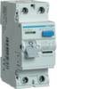 Устройство защитного отключения 63 А / 30mA / AC тип / 2 полюса / Hager
