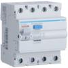 Устройство защитного отключения 25 А / 30mA / AC тип / 4 полюса / Hager
