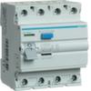 Устройство защитного отключения 63 А / 30mA / AC тип / 4 полюса / Hager