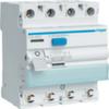 Устройство защитного отключения 63 А / 30mA / A тип / 4 полюса / безвиновые зажимы / Hager