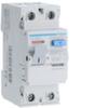 Устройство защитного отключения 25 А / 100mA / AC тип / 2 полюса / Hager