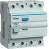 Устройство защитного отключения 63 А / 100mA / AC тип / 4 полюса / Hager