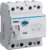 Устройство защитного отключения 80 А / 500mA / A тип / 4 полюса / Hager