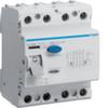 Устройство защитного отключения 100 А / 500mA / A тип / 4 полюса / Hager