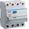 Устройство защитного отключения 40 А / 500mA / A тип / 4 полюса / Hager