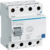 Устройство защитного отключения 125 А / 500mA / A тип / 4 полюса / Hager