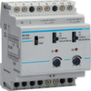 Сумеречный выключатель, 2 канала /2300Вт./230В./2- 20000лк/4 модуля, датчик заказывайте отдельно(в комплекте нет)