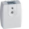 Сумеречный выключатель для открытой проводки IP55(сумер. выкл. и датчик в одном корпусе), 2300Вт./230В./5-2000лк.