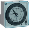 Недельный таймер компактный,1W/16A/230В/4,5М, аналоговый с запасом хода
