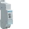 Дистанционный выключатель Hager с задержкой возврата, Un=230В 50/60Гц, 1НО 16A AC1 250В, макс. задержка откл. от 5мин до 1ч, ширина 1М