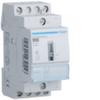 Контактор модульный малошумный+ с возм. ручного упр. для больших пусковых токов, 2н.о., AC1/AC7a 25A, Uупр.=24В DC, ширина 2М