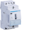 Контактор модульный малошумный+ с возм. ручного упр. для больших пусковых токов, 2н.о., AC1/AC7a 25A, Uупр.=12В DC, ширина 2М