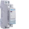 Контактор модульный бесшумный, 2н.о., AC1/AC7a 25A, Uупр.=24В 50Гц, (доп. контакта нет), ширина 1М