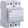 Контактор модульный бесшумный, 2н.о., AC1/AC7a 40A, Uупр.=24В 50Гц, ширина 3М