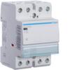 Контактор модульный бесшумный, 4н.о., AC1/AC7a 40A, Uупр.=24В 50Гц, ширина 3М