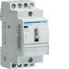 Контактор модульный c ручным упр., 3н.о., AC1/AC7a 25A, Uупр.=230В 50/60Гц, ширина 2М