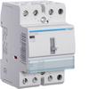 Контактор модульный c ручным упр., 3н.о., AC1/AC7a 40A Uупр.=230В 50Гц, ширина 3М