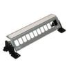 Патч панель для установки 12 разъёмов, горизонтальная, на дин-рейку или монтажную плату, сталь, стандартная