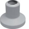 Декоративная накладка для основания G71417035, без прорезей, серый Hager