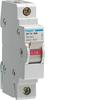Выключатель нагрузки, 40A, 1-пол., 1 M