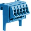 Клемма/N 5 клеммных выходов: 5х1,5-4мм2 безвинтовых, ширина - 30мм