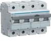 Автоматический выключатель 4P 10kA C-125A 6M