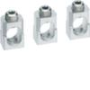 Клеммные зажимы для кабелей без наконечников h400-h630 под медь до 240мм² 3шт.