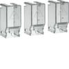 Крышки изолирующие выводов сверху и снизу 3P,  для переключателей HIM 63-80A, прозрачный пластик  Hager