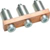 Принадлежность для наборных клемм Соединитель, на 3Р 150мм2 поперечный неизолированный для KXB150LH, KXB150NH