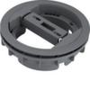 Вывод для цилиндрического короба, диапазон зажима H <20 мм, серый RAL 7011, Hager
