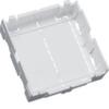 Монтажная коробка устройств 45*45мм для кабельного канала 60х110мм, Hager LFF белый