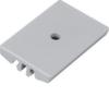 Настенный держатель для круглого короба Hager, полипропилен, RAL7035 светло-серый