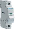 Выключатель нагрузки Hager - рубильник 100A, 1-пол., 1 модуль, 230-400В