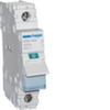 Выключатель нагрузки Hager - рубильник 125A, 1-пол., 1 модуль, 230-400В