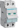 Выключатель нагрузки Hager - рубильник 40A, 2-пол., 2 модуля, 230-400В