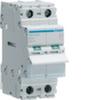 Выключатель нагрузки Hager - рубильник 63A, 2-пол., 2 модуля, 230-400В