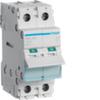 Выключатель нагрузки Hager - рубильник 125A, 2-пол., 2 модуля, 230-400В