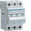 Выключатель нагрузки Hager - рубильник 63A, 3-пол., 3 модуля, 230-400В