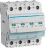Выключатель нагрузки Hager - рубильник 80A, 4-пол., 4 модуля, 230-400В