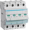Выключатель нагрузки Hager - рубильник 100A, 4-пол., 4 модуля, 230-400В