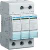 Разрядник защиты от перенапряжения класс С 3P steckbar 40kA Anz.
