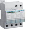 Разрядник защиты от перенапряжения класс С 4P steck.40kA, вариант включения TT (3+1) c F