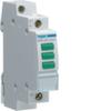 Светодиодный индикатор зеленый 3х, 230В АС, 1 М