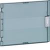 Дверь прозрачная матовая с рукояткой для щитов VB118, пластик