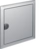 Наружная рамка с дверцей для встраиваемого щитка Volta,1-рядного(VU12AT), нержавеющая сталь